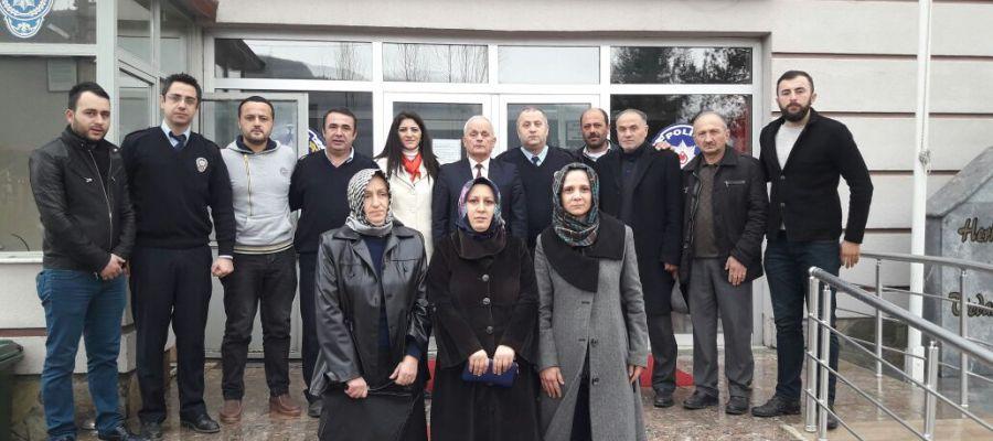 AK Parti Gölyaka Teşkilatından Emniyete Ziyaret