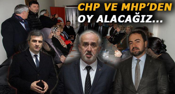 AK Parti İl Başkanı Mustafa Keskin, Akçakoca'da AK Parti teşkilatını ziyaret etti.