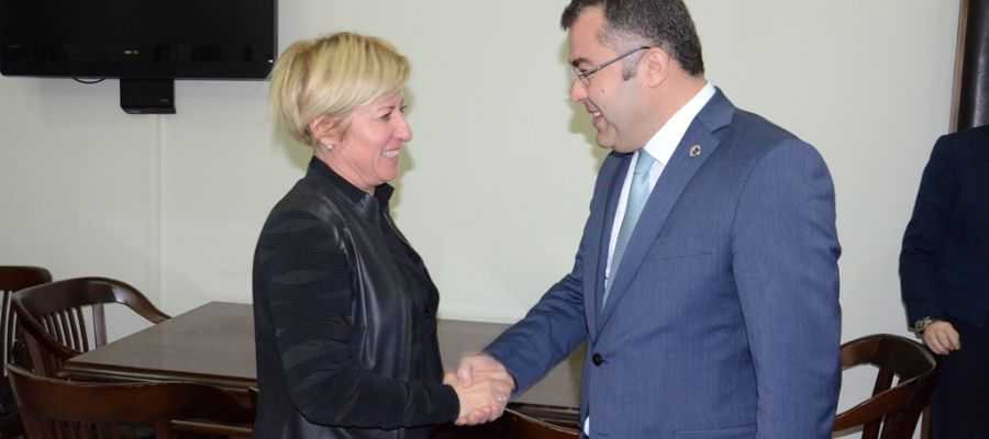 AK Parti'den Baro Başkanına Ziyaret