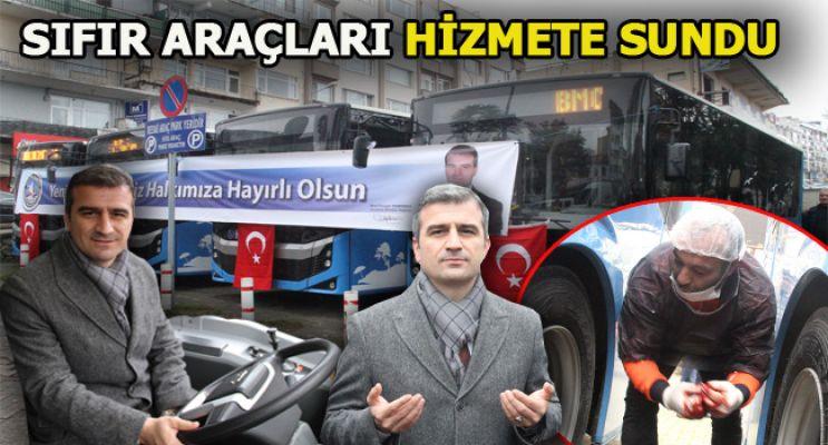 Akçakoca Belediyesine 4 yeni otobüs alındı