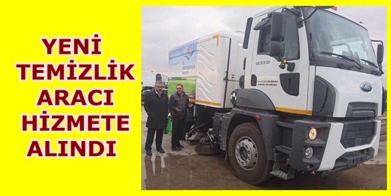 Akçakoca Belediyesine yeni araç alımı yapıldı