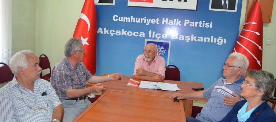 Akçakoca CHP de yeni dönem