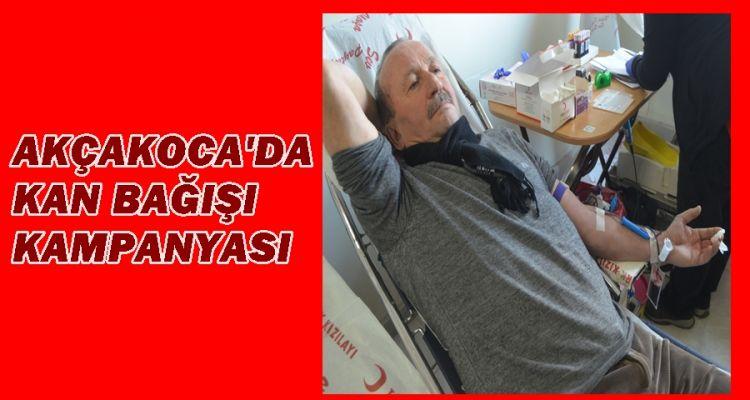 Akçakoca'da kan bağışı kampanyası