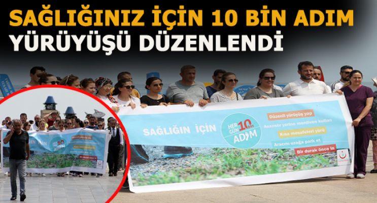 Akçakoca'da sağlığınız için 10 bin adım yürüyüşü düzenlendi
