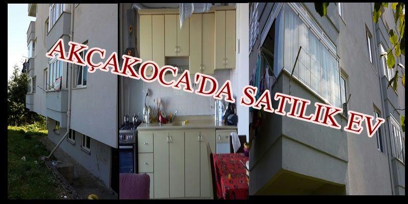 AKÇAKOCA'DA SATILIK EV