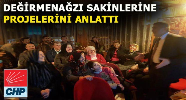 ALBAYRAK'TAN MAHALLE SAKİNLERİNE PROJE ANLATIMI