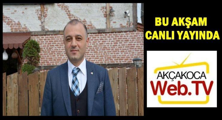 ATSO BAŞKANI PAZVANT  CANLI YAYINDA
