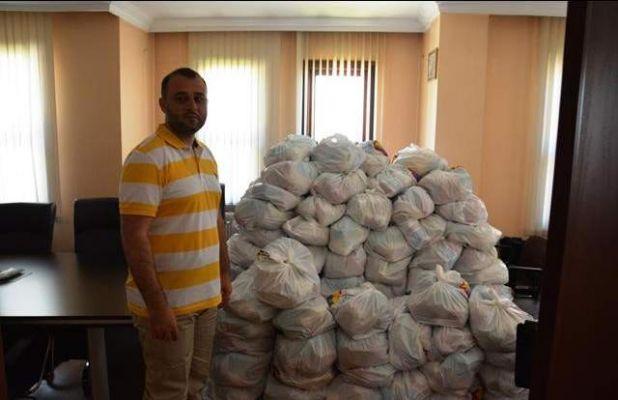 ATSO RAMAZAN'DA 1.200 GIDA PAKETİ DAĞITIYOR