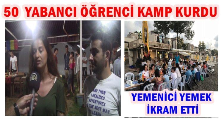 """""""AVRUPA GENÇLİĞİ"""" HASANÇAVUŞ KÖYÜNDE BULUŞTU"""