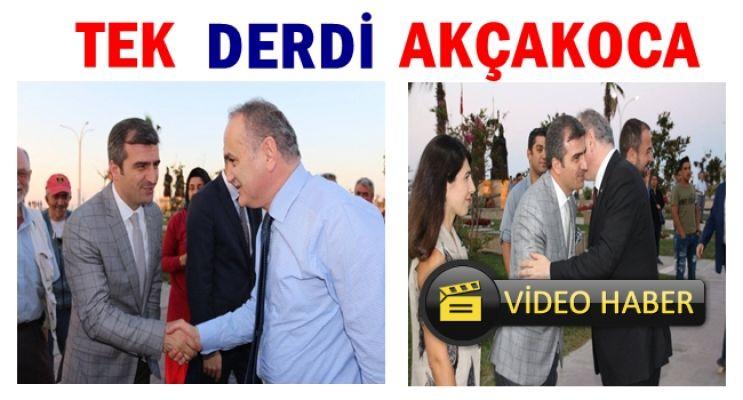 BAKAN ÖZLÜ, BAŞKAN YEMENİCİ'YE TEŞEKKÜR ETTİ
