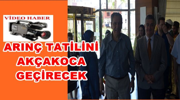 Başbakan Yardımcısı Arınç Akçakoca'da