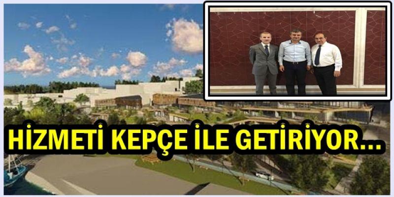BAŞKAN İSTANBUL'DAN ELİ BOŞ DÖNMÜYOR