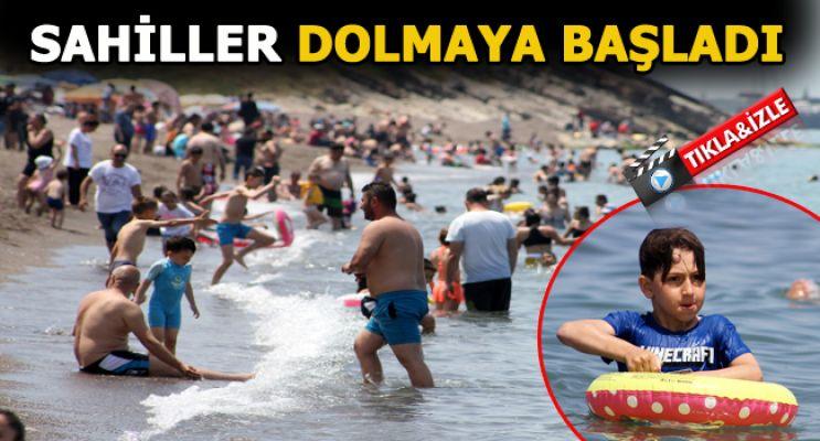 Batı Karadeniz'in İncisi Akçakoca'da sahiller doldu
