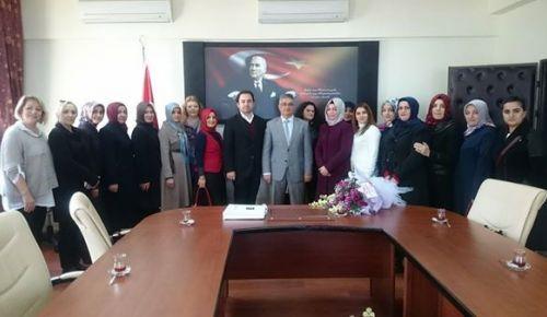 çalışkan ve yönetim kurulu üyeleri ziyaretlere başladı