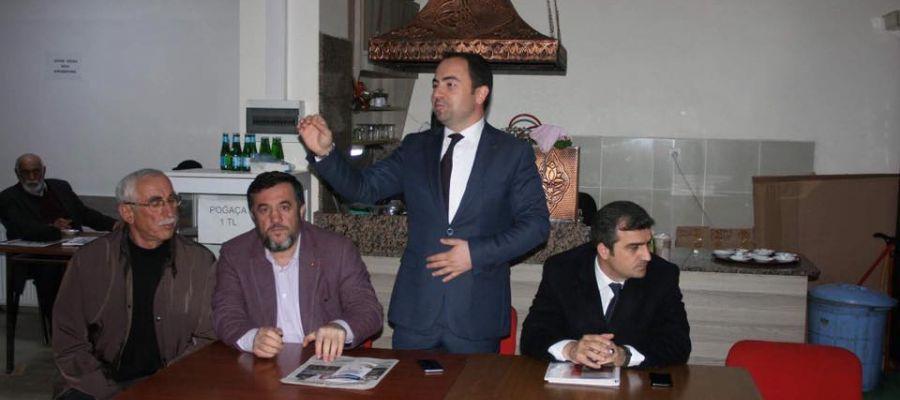 CAMİ ALTI  TOPLANTISI NA  OSMAN ÇAKIR