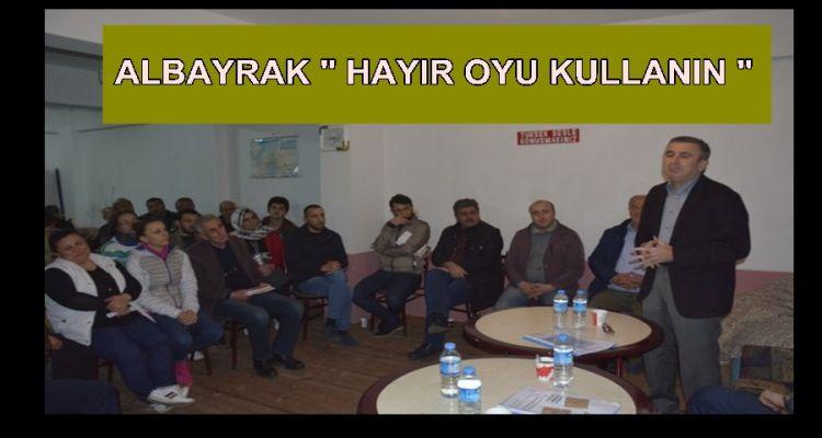 CHP AYAZLI MAHALLESİNDEYDİ (VİDEO HABER)