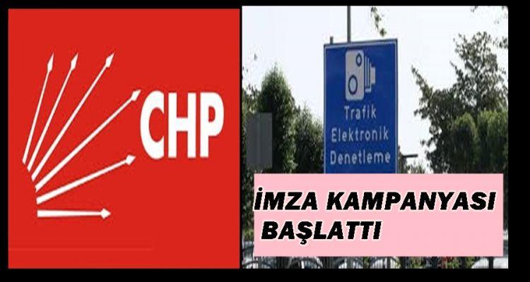 CHP DÜZCE DE İMZA KAMPANYASI BAŞLATTI