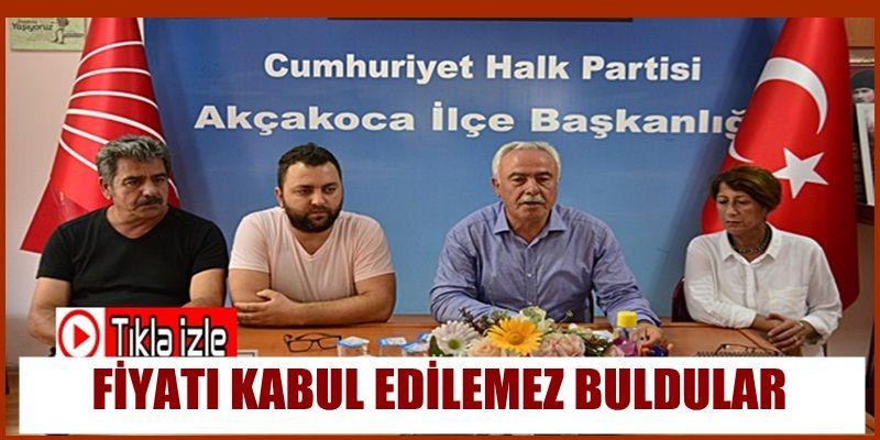 CHP FINDIK FİYATINI KABUL EDİLEMEZ BULDU