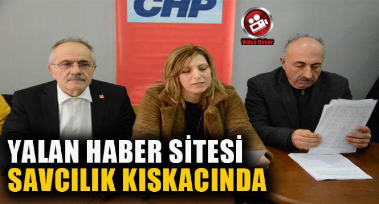 CHP, YALAN HABER SİTESİNE DAVA AÇTI