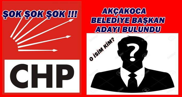 CHP'DEN ŞOK ADAY ADAYI