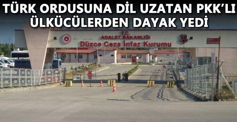 ÇİLİMLİ ÇEZAEVİNDE Kİ PKK LILARA MEYDAN DAYAĞI