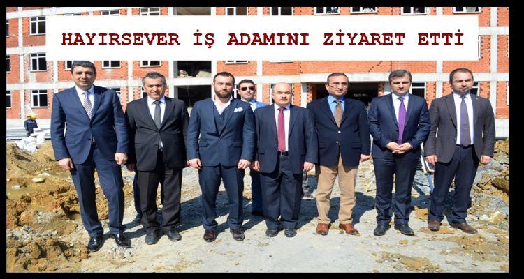 Düzce Valisi Dağlı Akçakoca'da ziyaretlerde bulundu (VİDEO HABER)