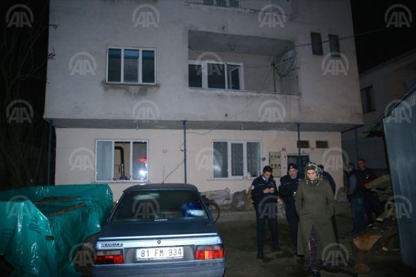 Düzce'de ev yangını: 1 ölü