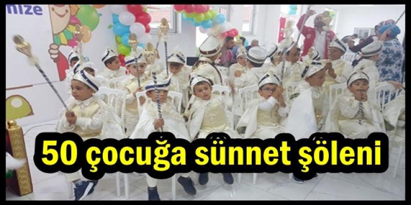 Düzce'de İhtiyaç Sahibi Çocuklara Sünnet Şöleni