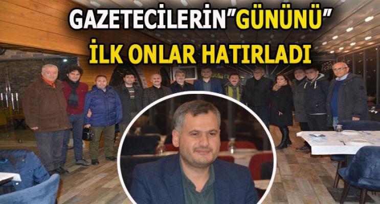 """EĞİTİM BİR SEN'DEN GAZETECİLERE """"10 OCAK"""" JESTİ"""
