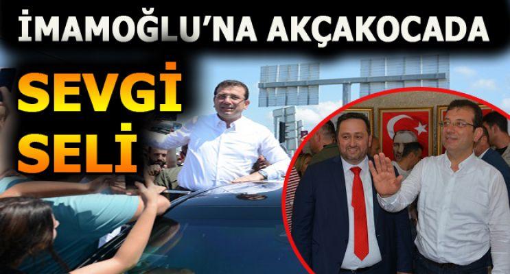 Ekrem İmamoğlu, Akçakoca belediyesine ziyaret etti
