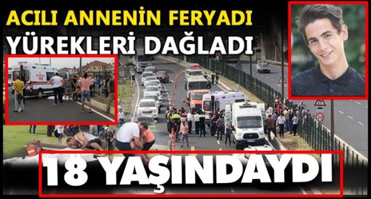 FECİ KAZADA CAN VERDİ!
