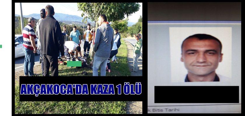 İŞE GİDERKEN TRAFİK KAZASINDA HAYATINI KAYBETTİ