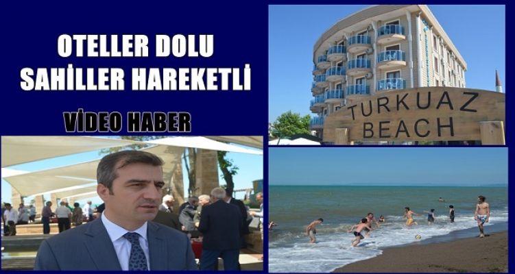 KARADENİZ'İN İNCİSİ AKÇAKOCA DA OTELLER DOLU