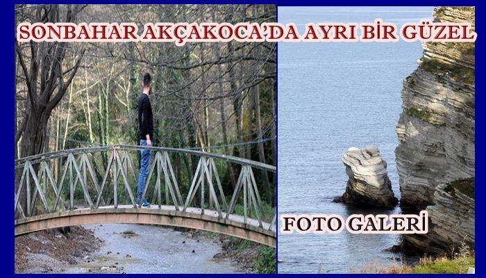 KARADENİZ'İN İNCİSİ AKÇAKOCA DA  SONBAHAR FOTOLARI