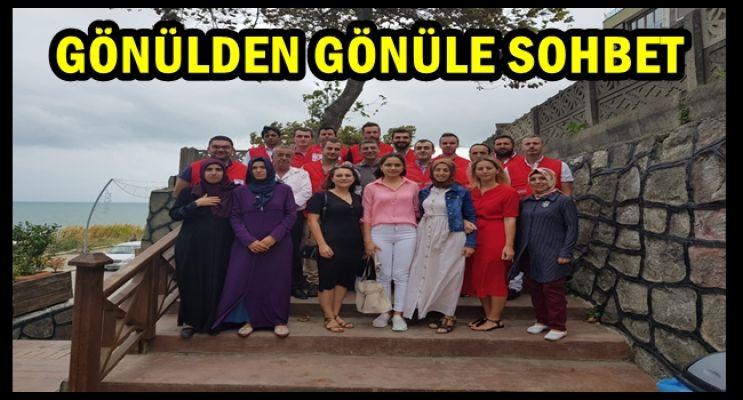 KAYMAKAM KIZILAYCILARLA SOHBET ETTİ