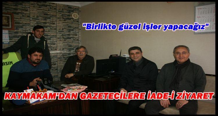 KAYMAKAM ÖZTÜRK AGC'Yİ ZİYARET ETTİ