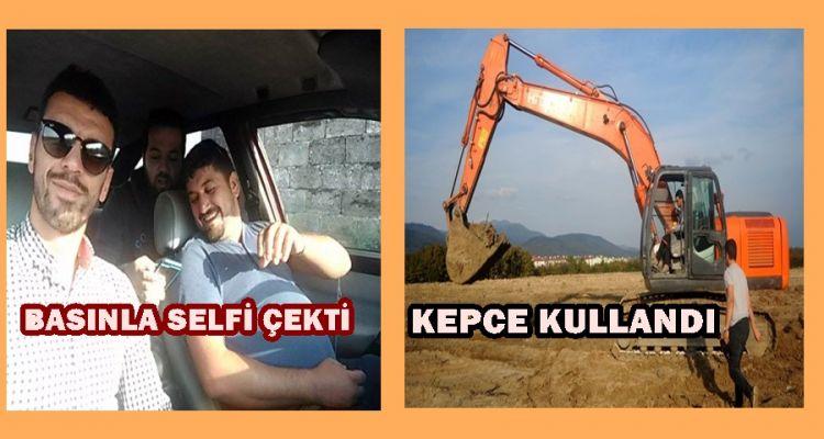 Kenan Sofuoğlu, Düzce'de Kepçe Kullandı