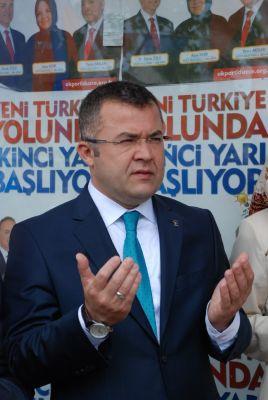 KESKİN'DEN VALİ FİDAN