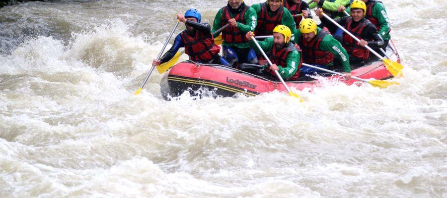 Melen Çayı'nda Rafting Sezonu Açıldı (video)