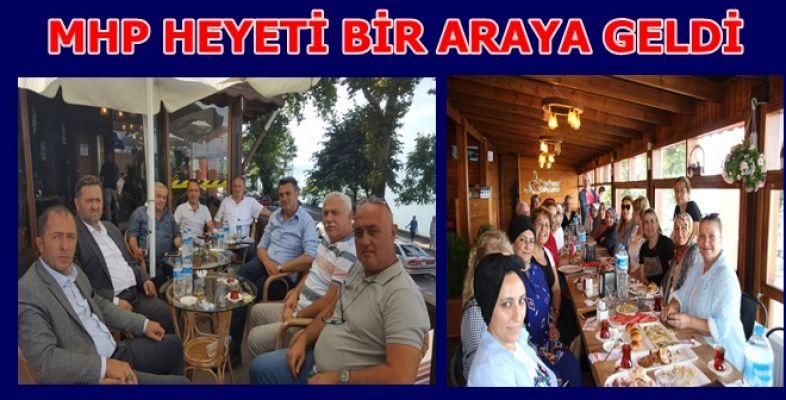 MHP HEYETİ KAHVALTIDA BULUŞTU