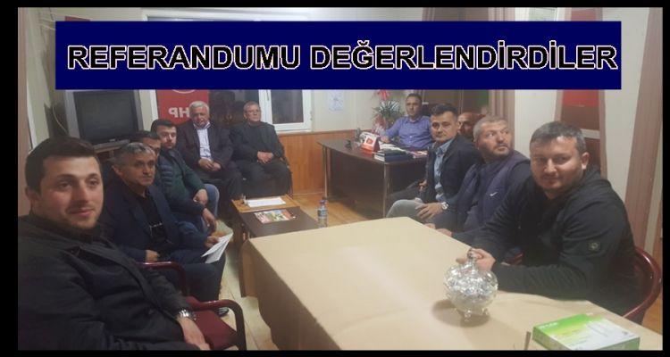 MHP REFERANDUM SONRASI İLK TOPLANTISINI GERÇEKLEŞTİRDİ