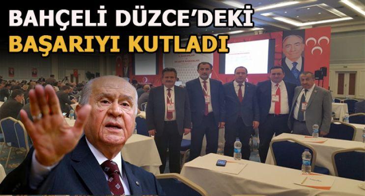 MHP'Lİ BAŞKANLAR ANTALYA'DA TOPLANDI
