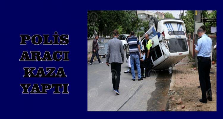 Polis Aracı ile Panelvan Çarpıştı: 3 Yaralı