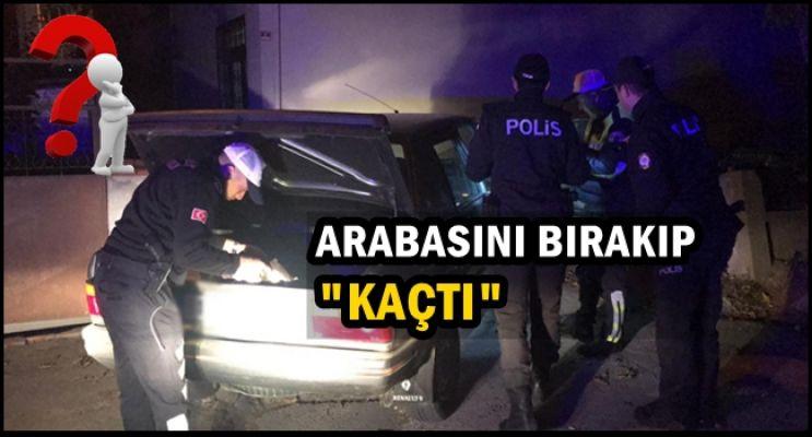 POLİSİN DUR İHTİYARINA UYMADI