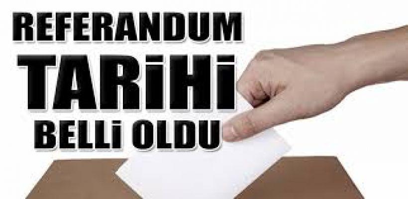 Referandum Tarihi 9 Nisan