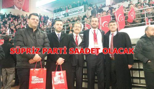 Saadet'in Aday Programı Türkiye'yi salladı