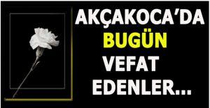 BUGÜN VEFAT EDENLER… 18 EKİM 2019...