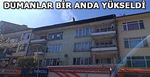İTFAİYE EKİPLERİ HEMEN HAREKETE...