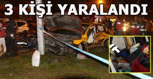 """""""kırmızı ışık ihlali"""" yapan sürücü kazaya neden oldu"""