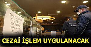 ZABITADAN BAKKAL, FIRIN, MARKET VE EKMEK BÜFELERİNE 'KORONAVİRÜS' DENETİMİ